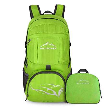 7812afe7ef Image Unavailable. Image not available for. Color  35L Lightweight Packable Foldable  Backpack Durable Portable Travel Hiking ...