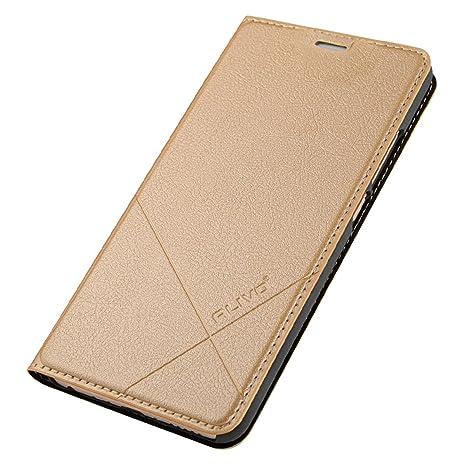 EUDTH Meizu M5 Note Funda, PU Leather con TPU Silicona Interna Suave Carcasa Libro Protección De Cuerpo Completo Carcasa para Meizu Meilan Note ...