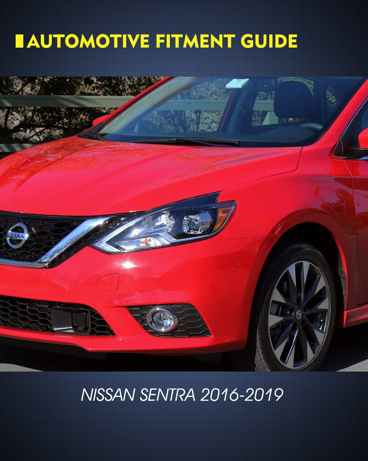 Clear Lens Fog Lamps 2016-2019 Nissan Sentra - includes switch and wiring kit for 2PCS a Set AUTOWIKI Fog Lights