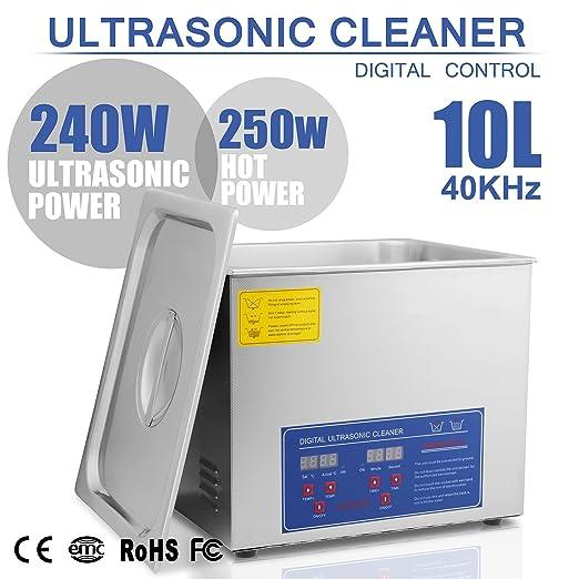 54 opinioni per BuoQua 10L Pulitore Ad Ultrasuoni Display Digitale Ultrasuoni Bagno Ultrasuoni