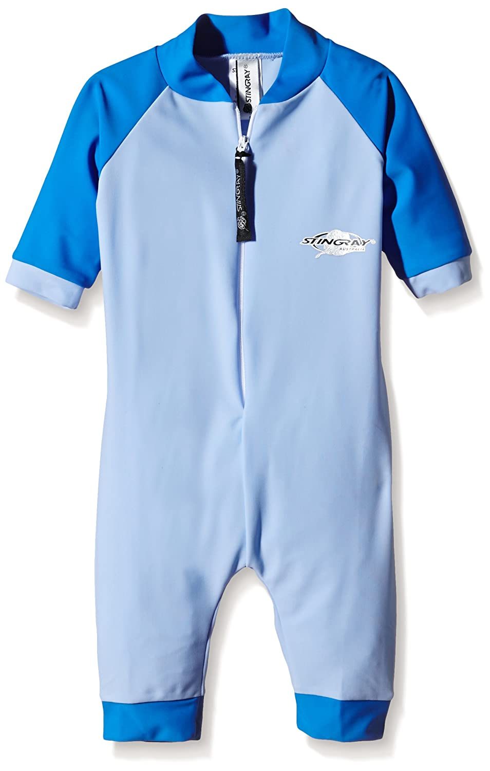 Stingray Australia Baby UV Sun Protection Romper Bathing Suit-Blue size 0 ST2000-LB