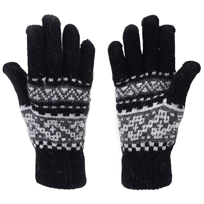 Sonia Originelli Handschuhe Norweger Muster Finger Strickmuster ...