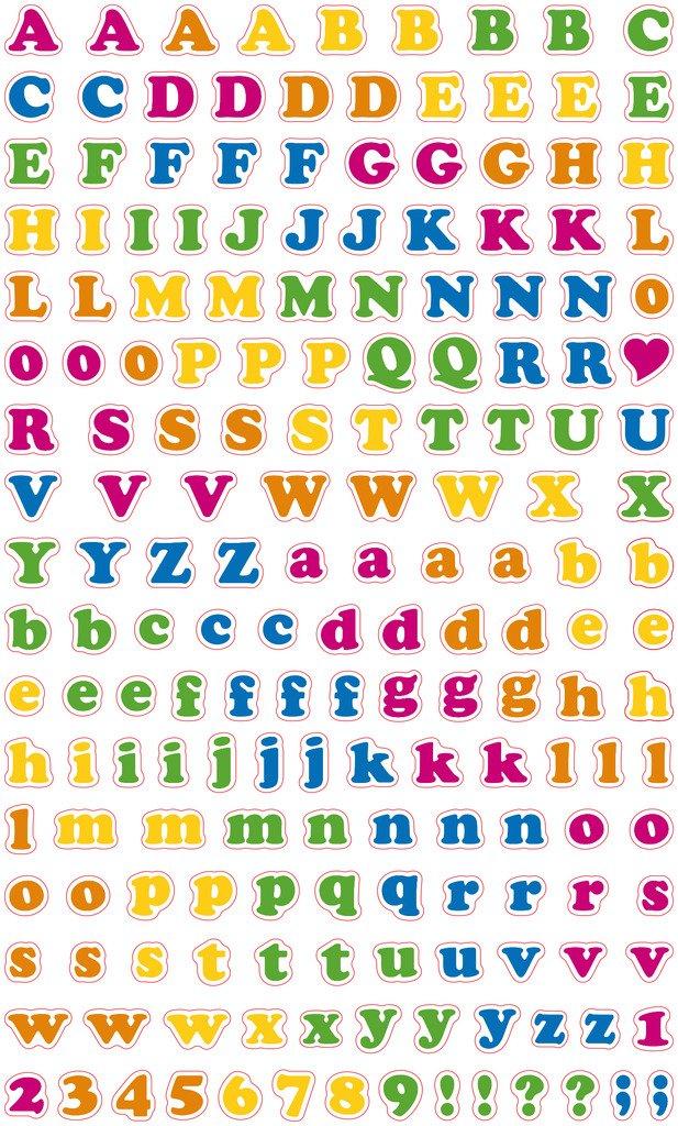 Polaroid Colorful /& Decorative Party Stickers Multicolore Permanente sticker decorativi