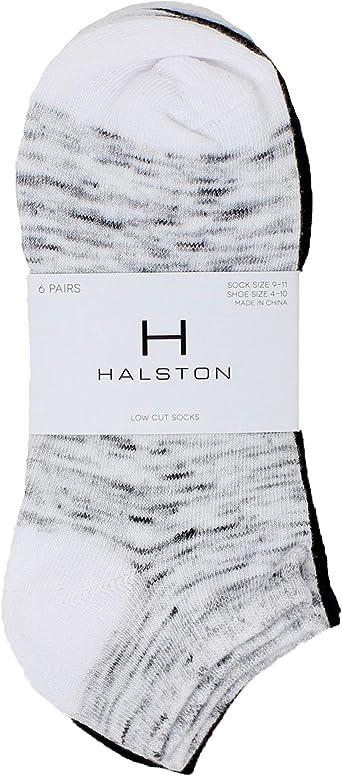 H Halston Womens Gray 3 Pack Dress Ankle Trouser Socks 9-11 BHFO 0961