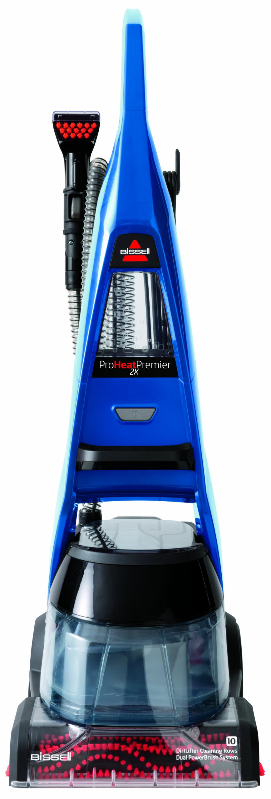 Bissell 47A23 Proheat 2x Premier Full-Size Carpet Cleaner, Blue by Bissell