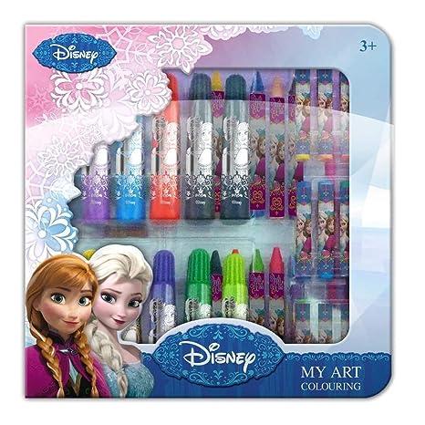 Coffret Coloriage Frozen La Reine Des Neiges De Disney 1661