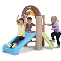 Simplay3 Young Explorers Indoor/Outdoor Activity Climber with Extra-Wide Slide for Multiple Kids Ages 18 Months to 6…