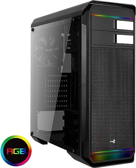 Aerocool AERO500G RGB - Caja Gaming para PC (semitorre, ATX ...