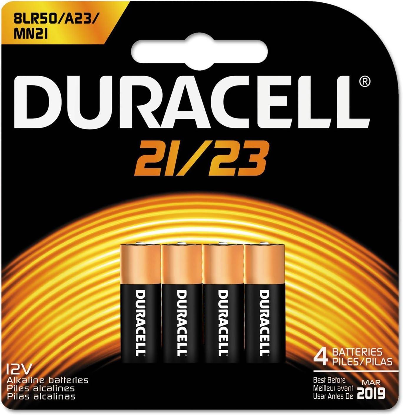 Duracell Battery 12 V Card Of 4