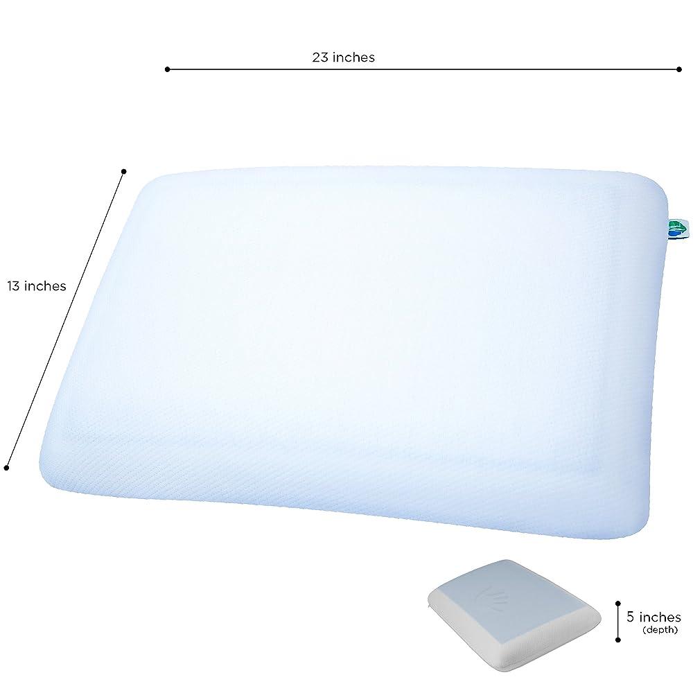 pharmedoc cooling gel memory foam pillow review