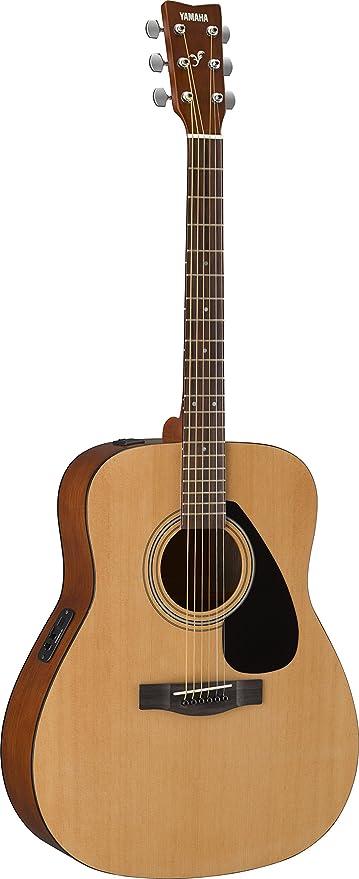 Yamaha FX310AII - Guitarra acústica con cuerdas metálicas (madera ...