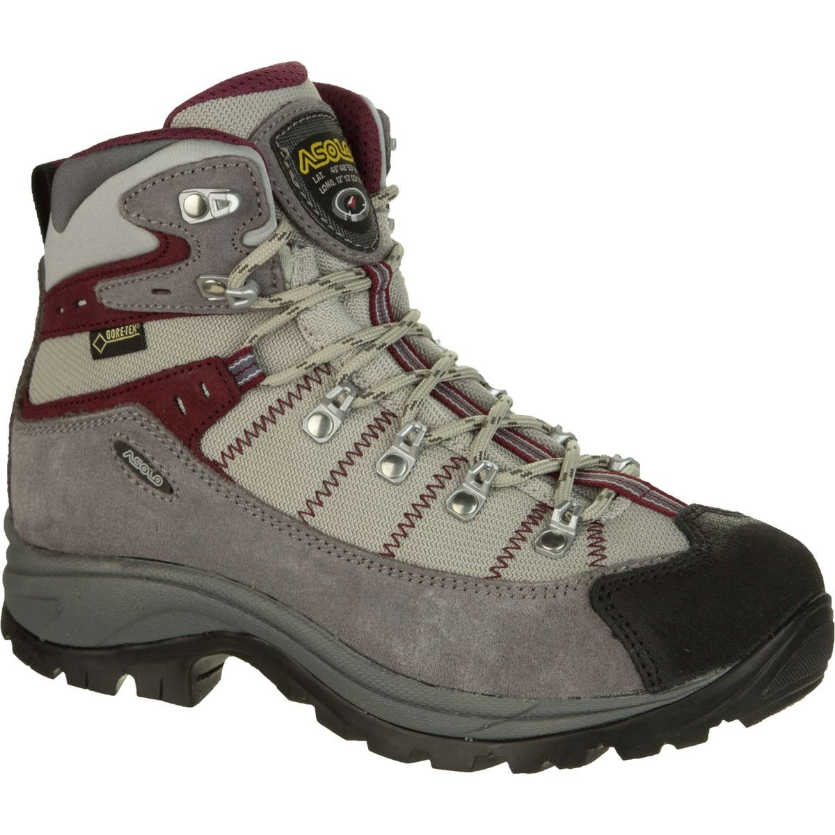 Asolo Women's Revert GV Hiking Boot B00DYPVKUM 6.5 B(M) US|Donkey/Grey