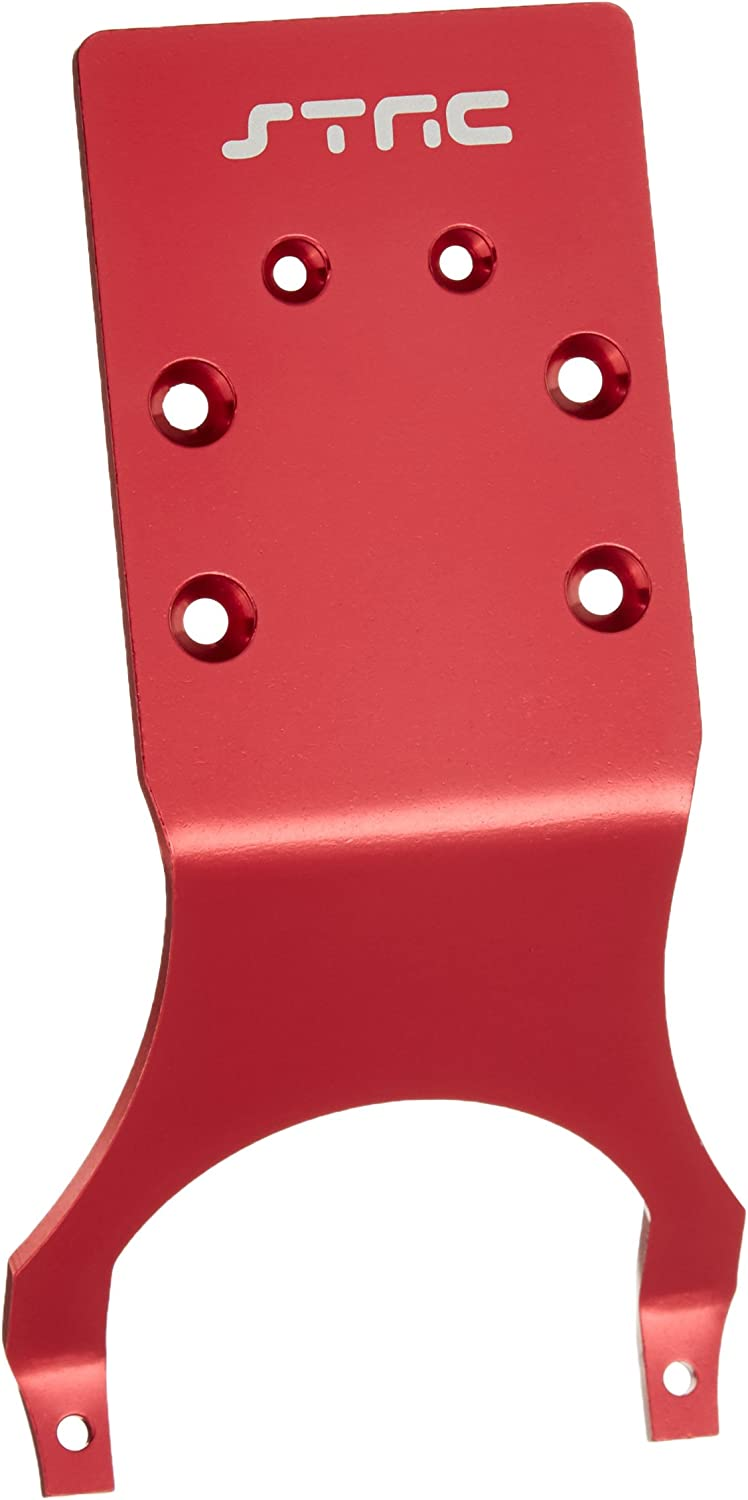 ST Racing Concepts ST3623RR Rear Skid Plate Stampede and Slash Red