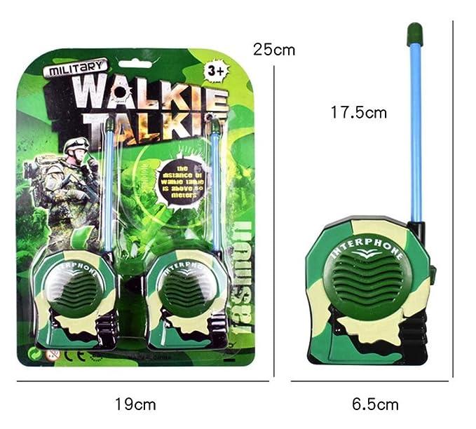 ecosin Interphone reloj niños Walkie Talkie reloj de pulsera ...