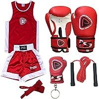 infantil Boxeo Uniforme 2 Piezas Set (Top &