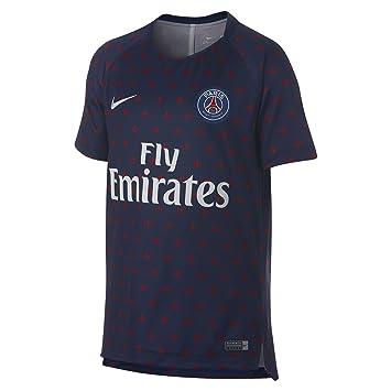 Nike PSG Y NK Dry SQD Top SS GX 2 - Camiseta e008e1ecd8535