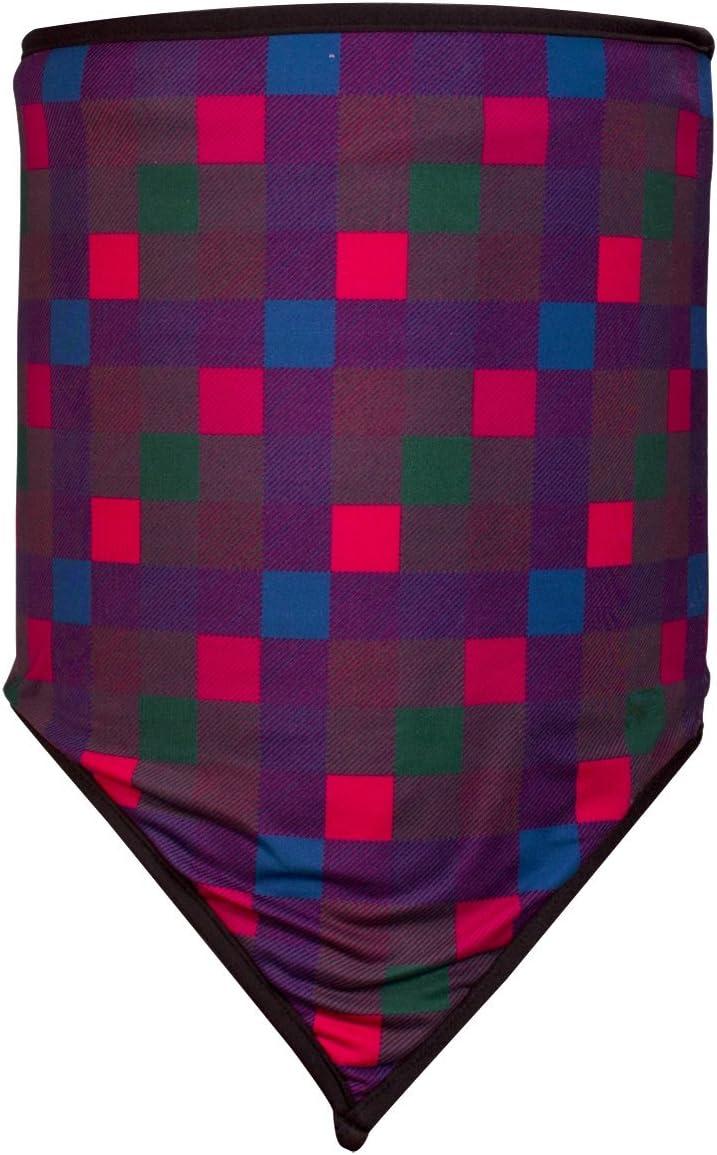 ZANheadgear WNGF001 Unisex-Adult Combo Gaiter Cozy Fleece Dark Paisley One Size Fits Most, Multi