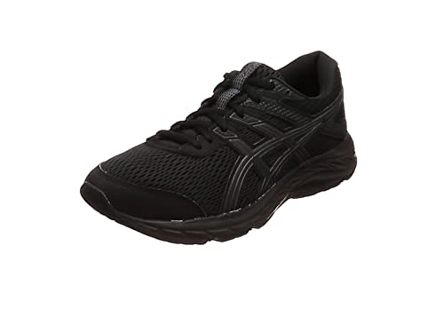 Asics Gel-Contend 6, Sneaker Mens, Black Black, 44.5 EU: Amazon.es: Zapatos y complementos