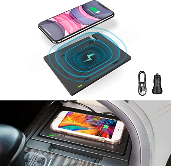 Best Cell Phone Carrier 2021 Amazon.com: CarQiWireless Wireless Charger for Toyota Camry 2018