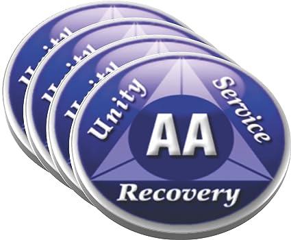 Amazon com | AA Alcoholics Anonymous Unity Service Recovery