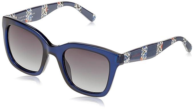 Tommy Hilfiger TH 1512/S 9O Gafas de Sol, Blue, 50 Unisex ...