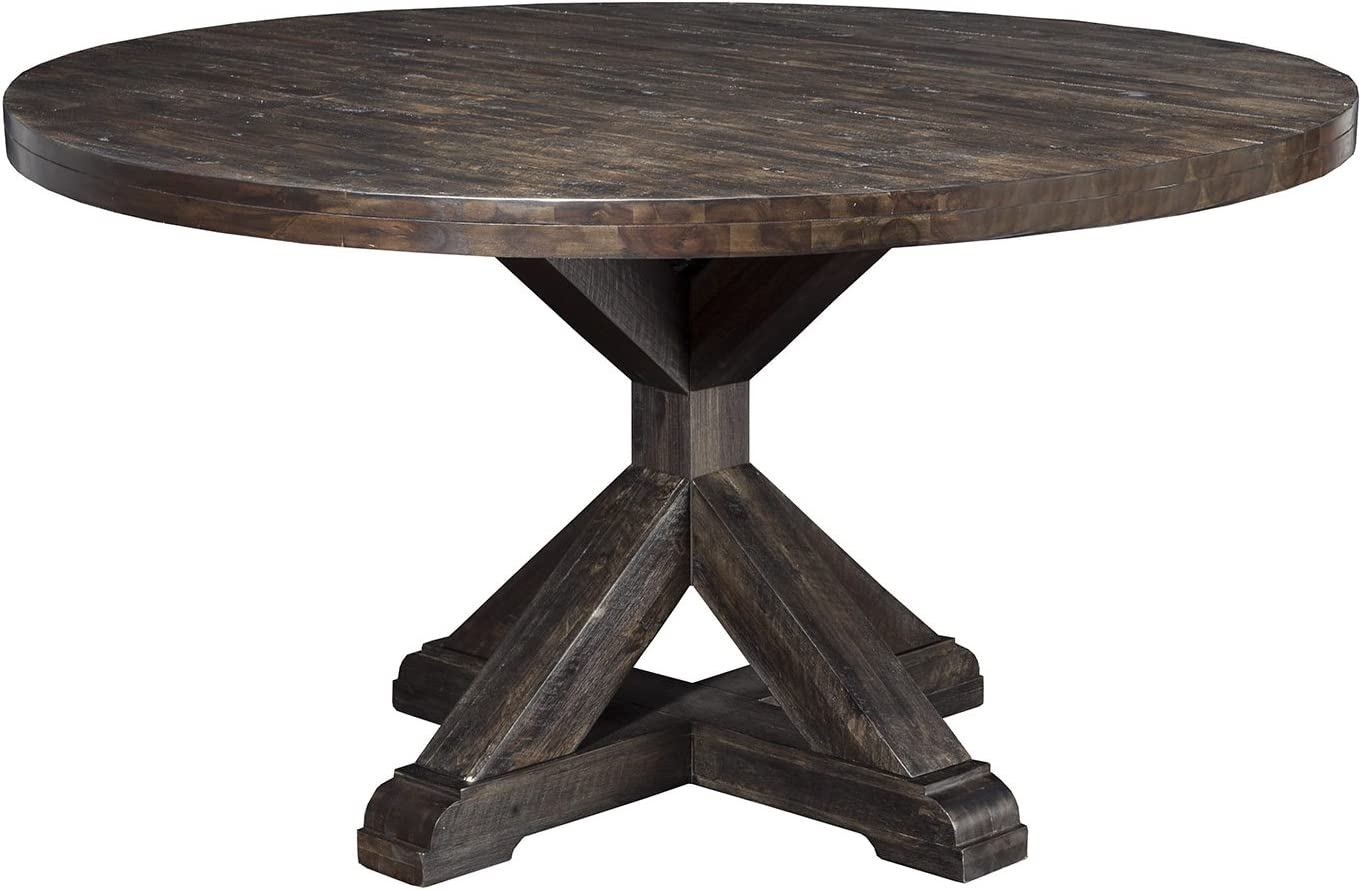 Alpine Furniture Newberry Round Dining Table