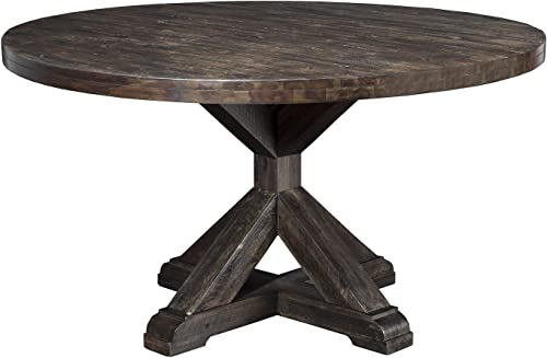 Alpine Furniture Newberry Round Dining Table