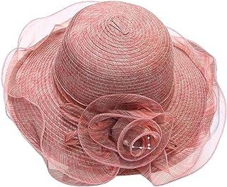 WFYJY-Cappello Sun Helmet Crema Protezione UV Regolabile.b.