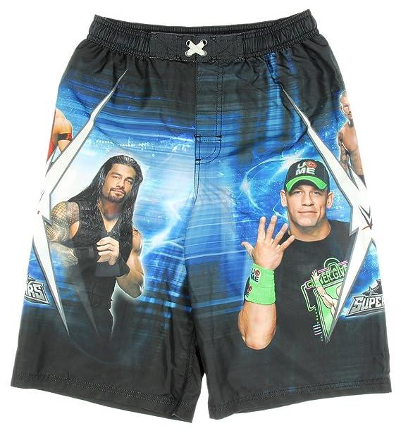 45c2fe2a9f9aa Amazon.com: WWE Superstars John Cena Boardshorts Swim Trunks - X ...