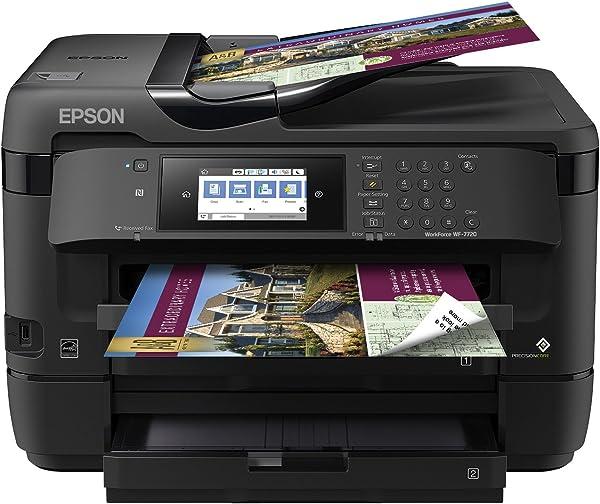 Epson WorkForce WF-7720 - Best Inkjet Printer For Cardstock