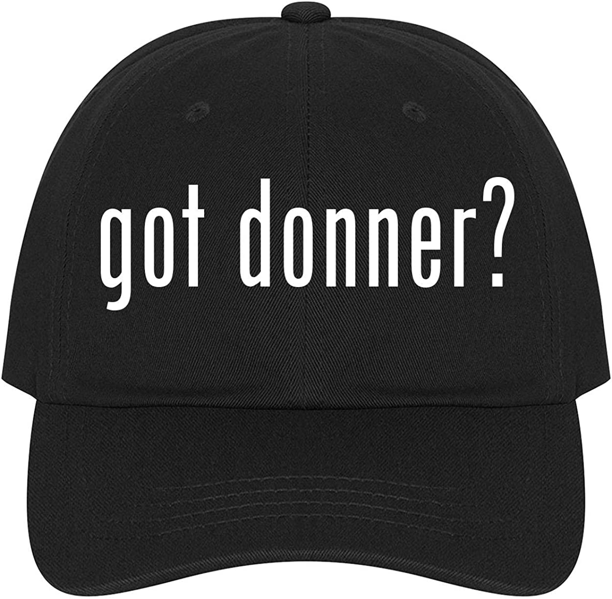 A Nice Comfortable Adjustable Dad Hat Cap The Town Butler got Donner?