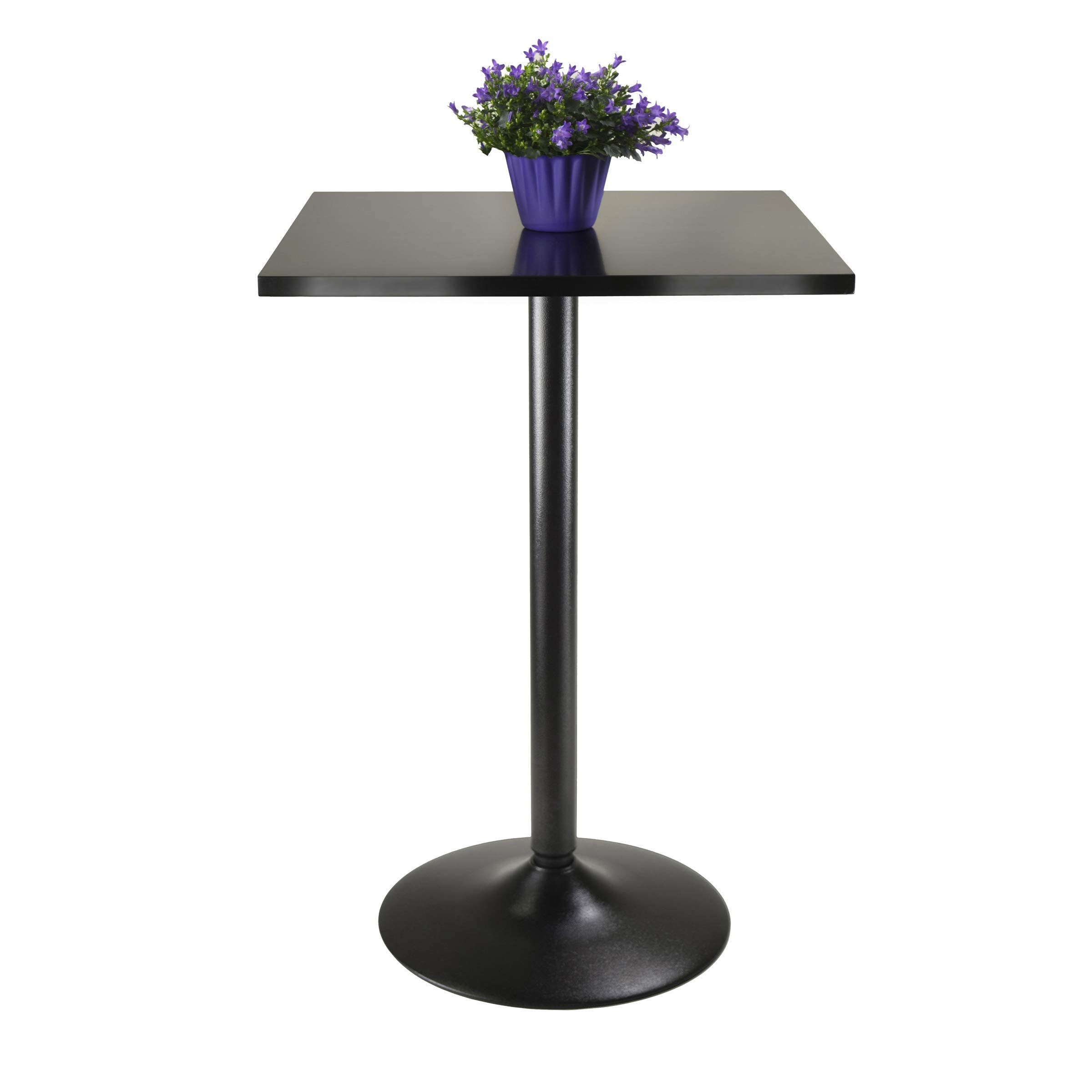 Winsome 20522 Obsidian Dining Black (Renewed) by Winsome (Image #2)