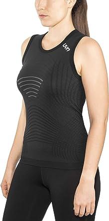 UYN U100083 - Camiseta Interior para Mujer (Talla L/XL), Color Negro y Blanco: Amazon.es: Ropa y accesorios