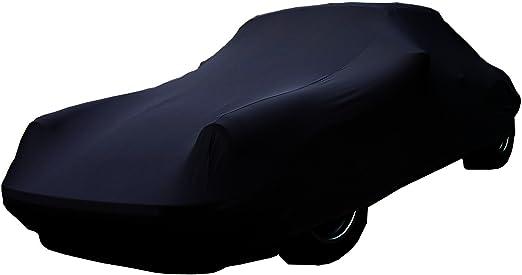Car E Cover Autoschutzdecke Perfect Stretch Elegant Formanpassend Atmungsaktiv Für Den Innenbereich Farbe Schwarz Auto