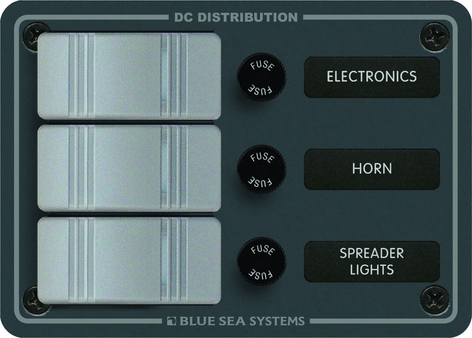 Blue Sea Systems 3 Position-Slate Gray by Blue Sea Systems
