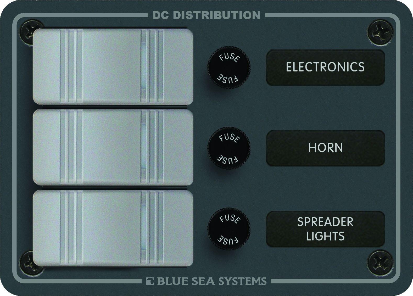 Blue Sea Systems 3 Position-Slate Gray