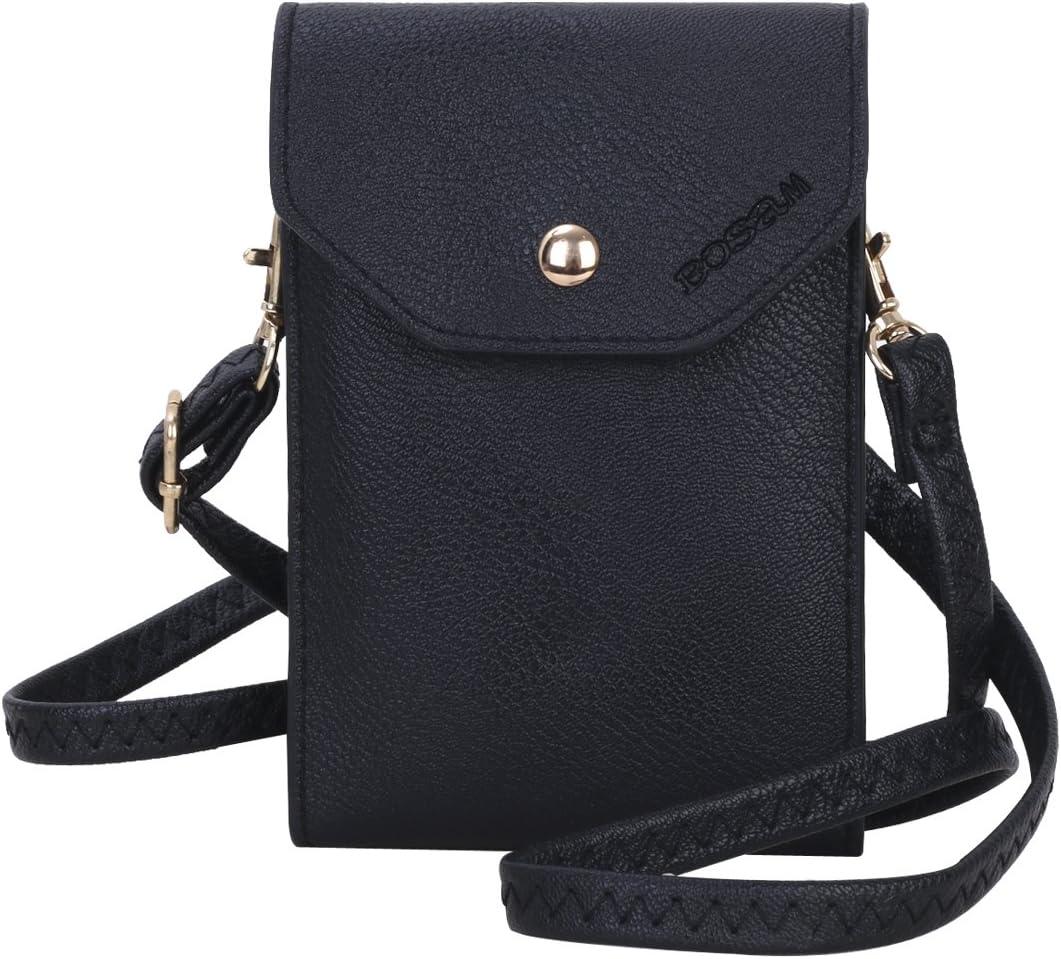 Bghnifs Lovely /& Sunny Crossbody Cell Phone Purse Cute Pink Pigs Mini Messenger Shoulder Bag Wallet for Women,Love USA