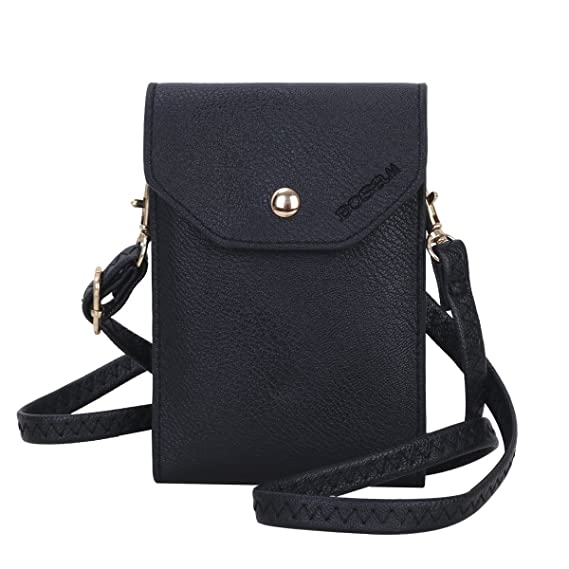 69cae9ed8c8c Image Unavailable. Image not available for. Color  Bosam Cute Candy Colors  Crossbody Cell Phone Purse Small Woman ...
