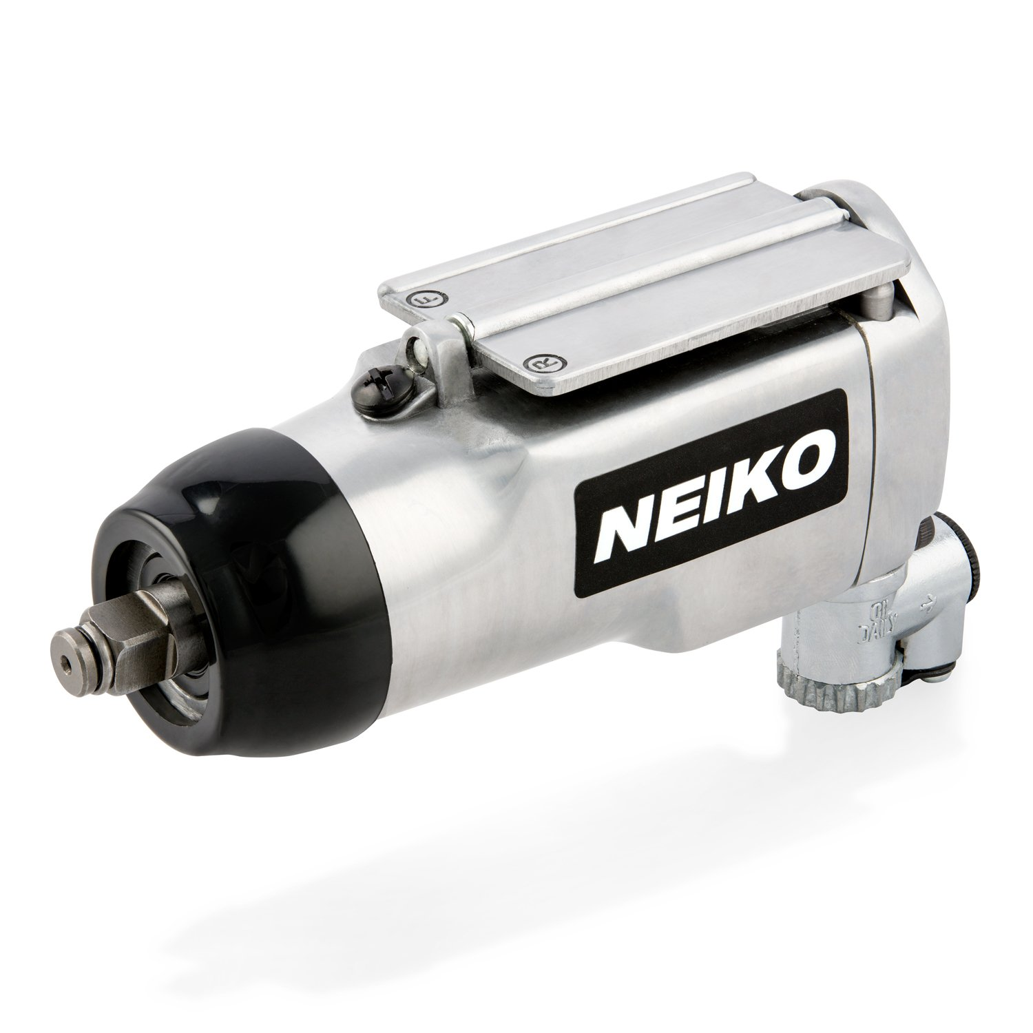 Neiko 30088A 3/8'' Butterfly Air Impact Wrench | 1/4'' NPT Air Inlet | 4 CFM, 90-120 PSI | 75 Ft-Lb, 10000 RPM