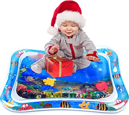 Inflatable Water Play Large Mat Infants Baby Toddlers Perfect Fun Time Play Pad