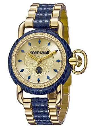 Roberto Cavalli by Frank Muller MOVING CROWN DETAIL Womens 36mm Watch  RV1L017M0136 3080190d95f