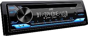 JVC KD-T710BT - CD Receiver Featuring Bluetooth, Front USB, AUX, Amazon Alexa