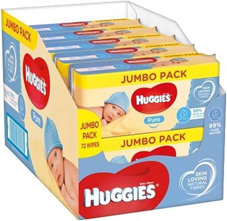 Huggies Pure Toallitas para Bebé - 10 paquetes de 72 unidades ...