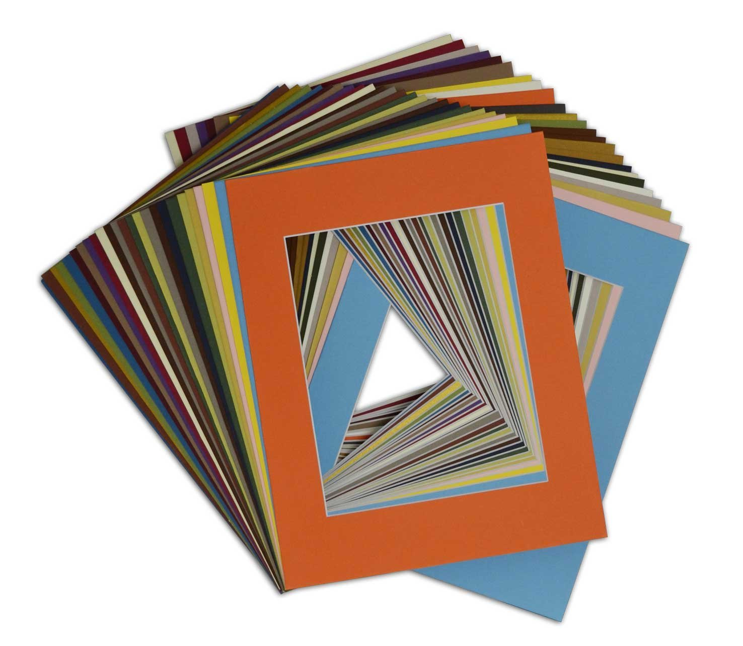 Artwork Pack of 50 11x14 Backing Boards DIY Project Golden State Art Use for Mats