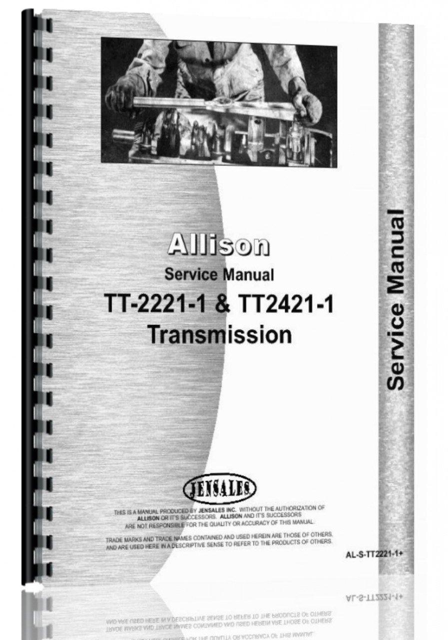 Allison transmission model tt2221 1 tt2421 1 service manual allison transmission model tt2221 1 tt2421 1 service manual jensales ag products 6301147611437 amazon books fandeluxe Gallery