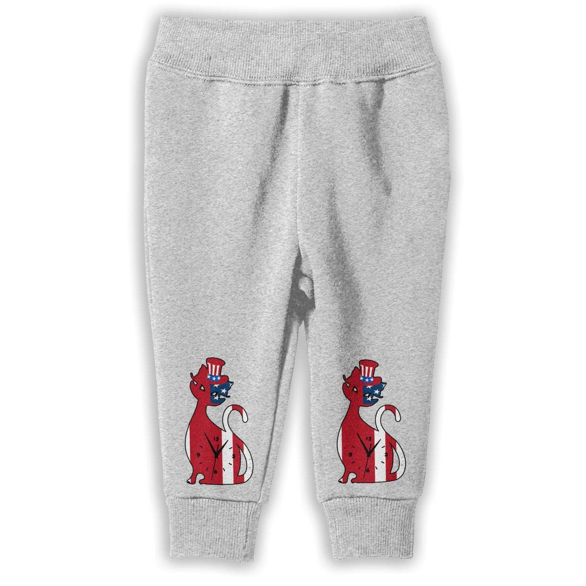 2-6T Cat Kitten Kids Sweatpants Cute Jogger Pants Active Pants Cotton Pants