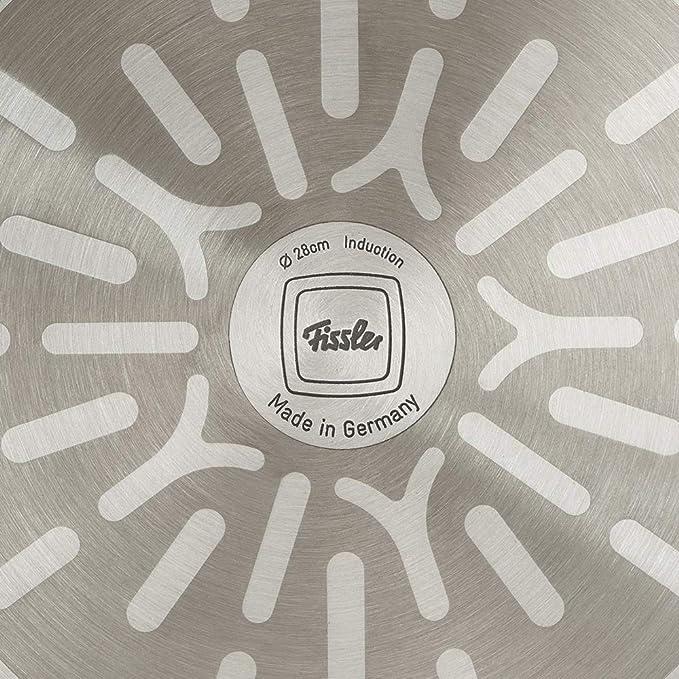 Fissler Protect Alux Premium Sartén Antiadherente, para Todo Tipo de cocinas, Aluminio Forjado, 28 cm