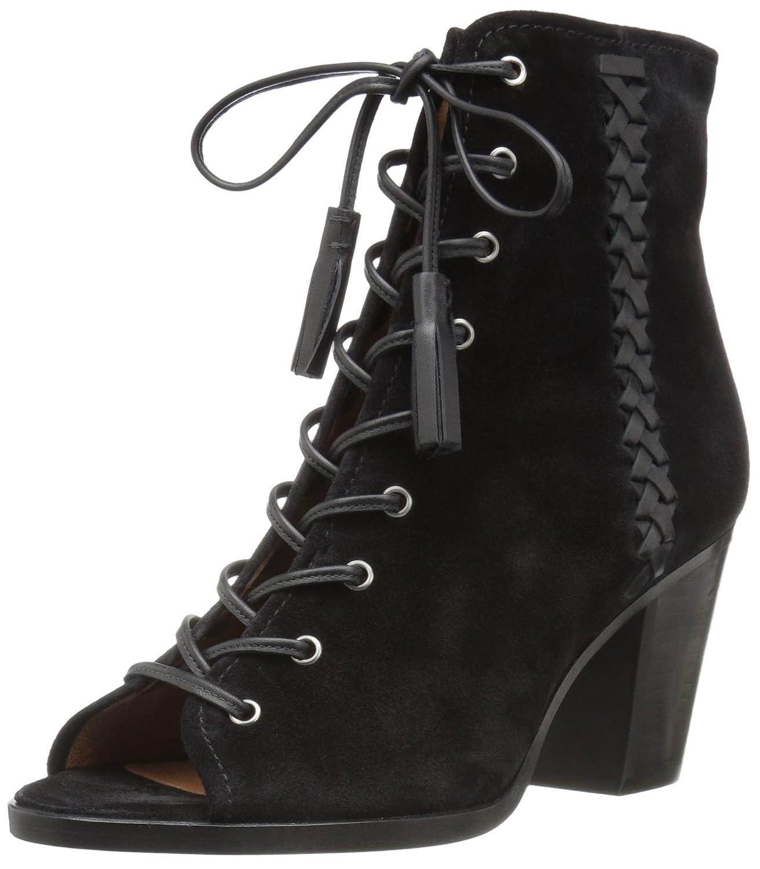 FRYE Women's Dani Whipstitch Lace Boot B01H4X8XQS 6 B(M) US Black