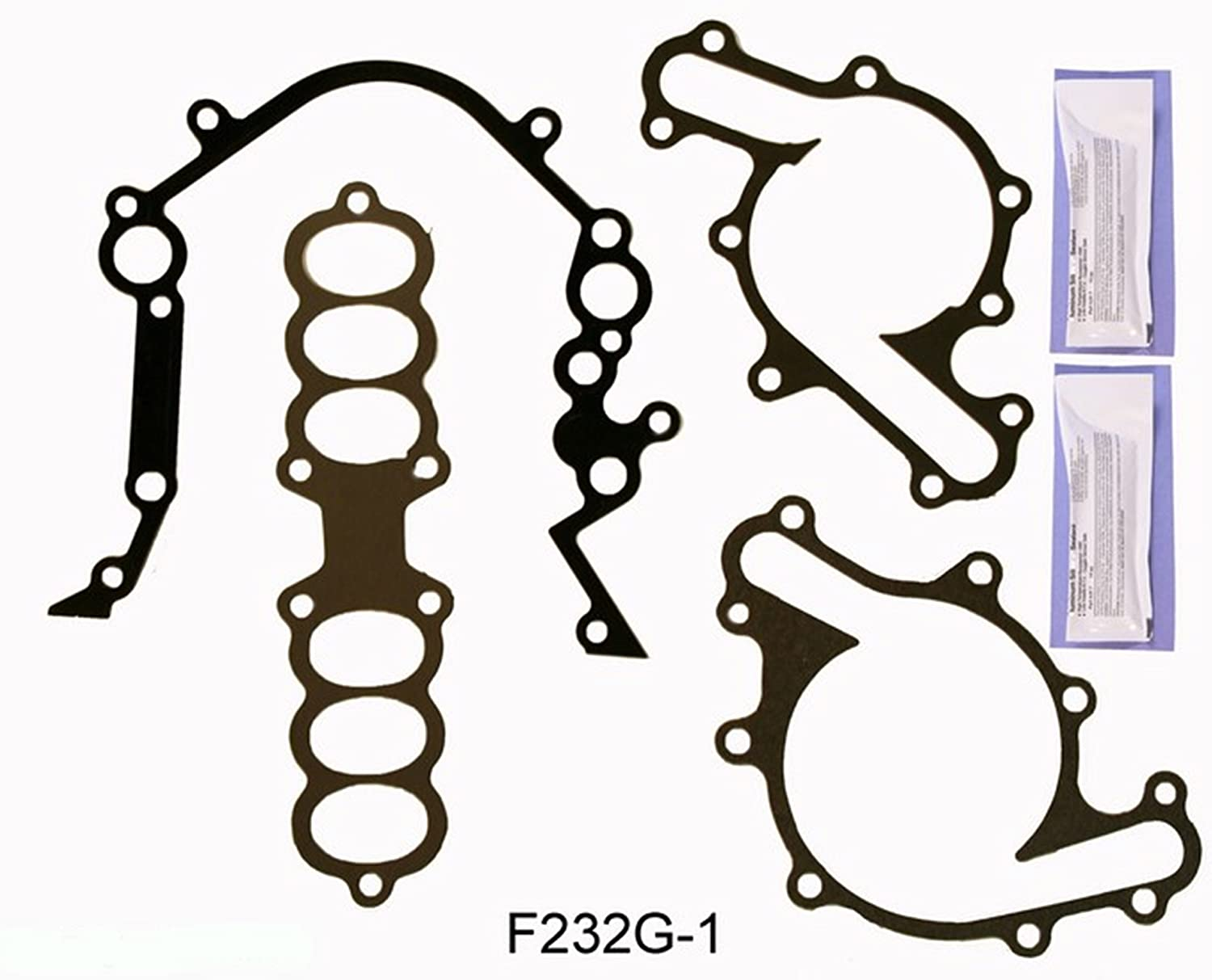 1997-1998 Ford TBird Mustang Cougar 232 3.8L OHV V6 ESSEX ReRing Kit w//Full Gasket Set Rings Bearings FITS