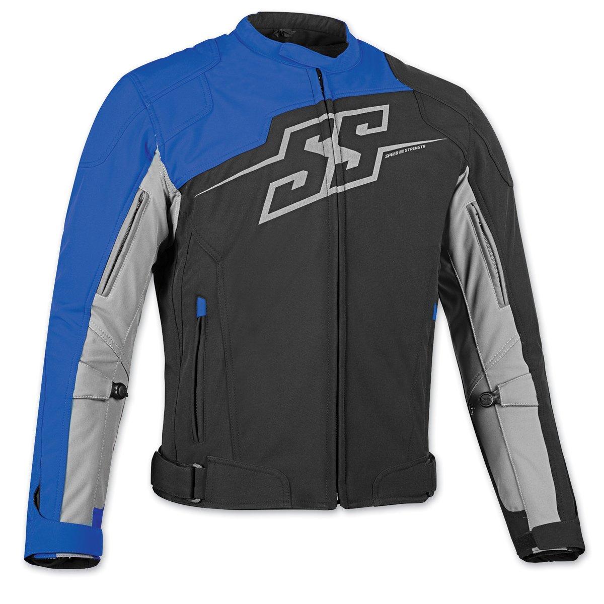 Speed and Strength ハンマー ダウン テキスタイルジャケット L ブルー 870653 B013MI0C9A L|ブラック/ブルー ブラック/ブルー L